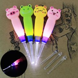 Baby Kids LED-ficklampa Ear Pick Ear Wax Curette Remover Clean