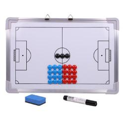 aluminium taktisk magnetplatta för fotbollsstrategi tränarfot