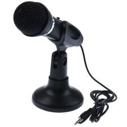 Kondensatormikrofon Stereo Desktop Stand för PC Videochatt Podc