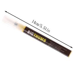 1pc scorch pen markör kemisk vedeldad penna för DIY Wood Pai