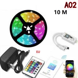 10 / 20M LED Strip Light 2835 SMD RGB 60Leds / m Vattentät WIFI IR Not waterproof