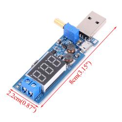 DC-DC USB steg upp / ner strömförsörjningsmodul boost converter 5V t