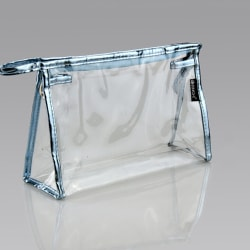 Information om 1 5 10 Clear Transparent Plastic PVC Travel Cosm