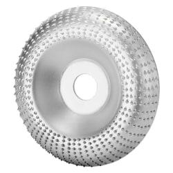 Skiva trä slipning hjul skiva slipning Carving verktyg för icke-meta Silver