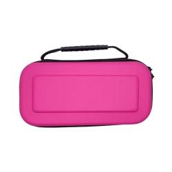 För Nintendo Switch Hard Shell bärväska Skyddande resor Pink