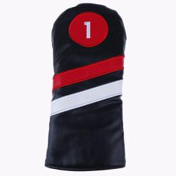 Golfhuvudskydd # 1 # 3 # 5 Headcovers Driver / Fairway Rescue /