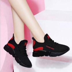 Dam Sneakers Casual Sport Walking Skor Andas Hollow Me Purple 40