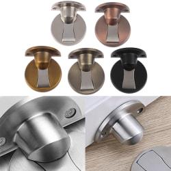 Magnetiska dörrstopp 304 rostfritt stål dörrpropp dold doo 5#
