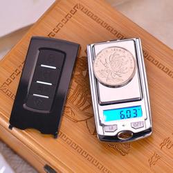 Mini Pocket Smycken Cract Scale 200g / 100g Digital nyckelvåg 2