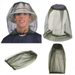 MOSQUITO MOSI INSECT MIDGE BUG MESH HEAD NET FACE PROTECTOR TRA