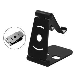 Telefonhållare Mobiltelefonställ för smartphone Tablet Des Black