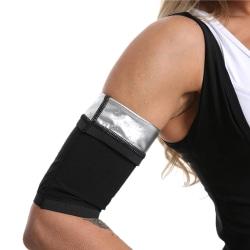bastu arm trimmare arm svettband arm smalare shaper arm traine Black S/M