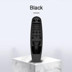 Silikon Fjärrkontroll Fodral Skydd mot LG AN-MR60 Black