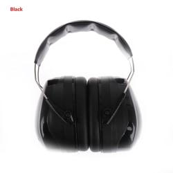Ljudisolerade öronskydd, brusreducerande skydd, bullerreducering 2(Black)