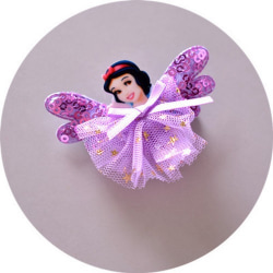 Barn, Flickor, prinsessan Håraccessoarer 1 st lila