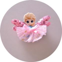 Barn, Flickor, prinsessan Håraccessoarer 1 st rosa