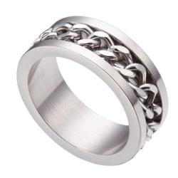 Rostfritt stål ring  17