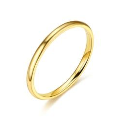 Rostfritt stål ring 2mm  18