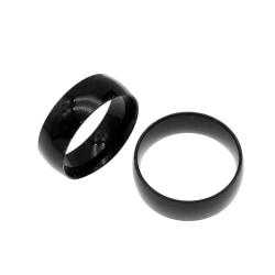 Rostfritt stål ring 8mm 21