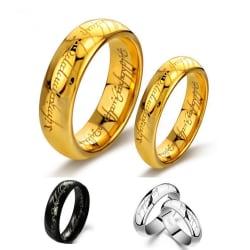 Rostfritt stål ring  silver 20