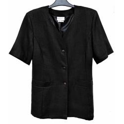 Jacka i svart med kort ärm. Art.133628 38