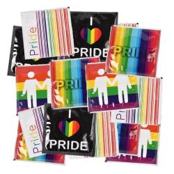 PRIDE kondomer 10-pack Transparent