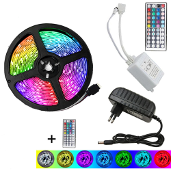 5m Flexibel LED Smart RGB Light Strip eu