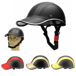 Justerbar cykelmotorhjälm Säkerhetshjälm Unisex Black