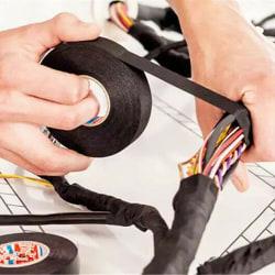 Fordonskabelband / vattentätt och säkert / för C 19mm*25m