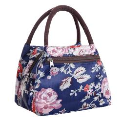 Bärbar resväskväska tygväska för picknick Peony
