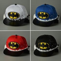 Fashionabla Batman-färgpunkthatt - Justerbar - för barnpresenter - Red