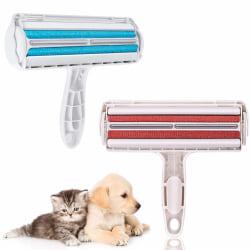 Handhållen rulle - hårborttagare - hund och katthår - Handhå Blue