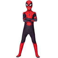 Barn Vuxna 3D Spiderman Jumpsuit - Superhjälte Cosplay Kostym 190CM