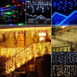 LED-ljusstråle - vattentät ljussträng - för trädgårdsdekoration Blue