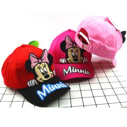 Mickey Minnie tecknad keps / utomhusskugga basebollkeps / gåvor Pink