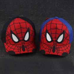 Röd och blå Spiderman-näthatt - stark andningsförmåga - för barn Black