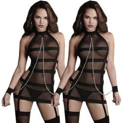 Kvinnors genomskinliga nattklänning / dockkjol / Sexiga spetsunder 1PCS