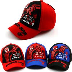 Spiderman Hiphop-hatt - Andningsbar solhatt - Justerbar - för Ou Red & Net