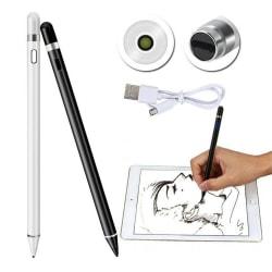 Stylus Universal Aktiv kapacitiv penna Apple Stylus för ipad White