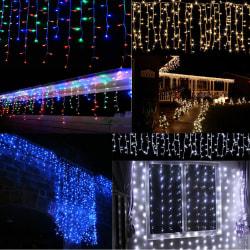 Vattentät fjärilsgardinljus - Romantiskt nattljus - Dati White 3.5M 96 lights