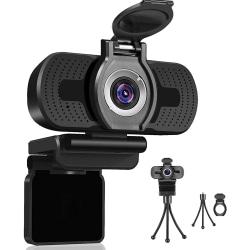 Dericam HD 1080P webbkamera med mikrofon