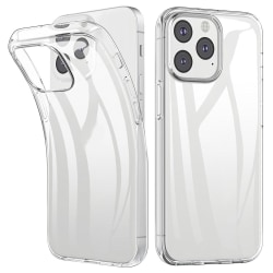 Boom iPhone 13 Pro Skal Mjuk TPU - Clear Crystal iPhone 13 Pro
