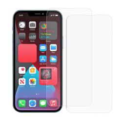 [2-PACK] Härdat glas iPhone 13 / iPhone 13 Pro Skärmskydd - Clea