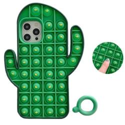 Kaktus Pop it Fidget Skal till iPhone 7/8/SE (2020)
