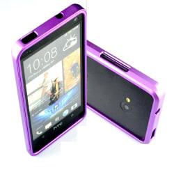 Aluminium  Bumper Skal till HTC One (M7) (Lila)