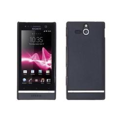 Baksideskal till Sony Xperia U ST25i - (Svart)