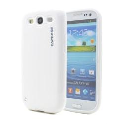 CAPDASE Elli till Samsung Galaxy S3 i9300 (Vit) + Skärmskydd
