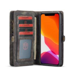 CASEME 2-in-1 Plånboksfodral för iPhone 11 Pro Max - Grå