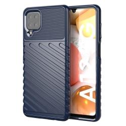 Thunder Twill Mobilskal Samsung Galaxy A12 - Blå