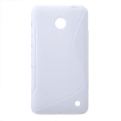 FlexiCase Skal till Nokia Lumia 630 (Vit)
